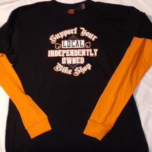 Support Your Locally Owned Bike Shop T-Shirt LS 2X